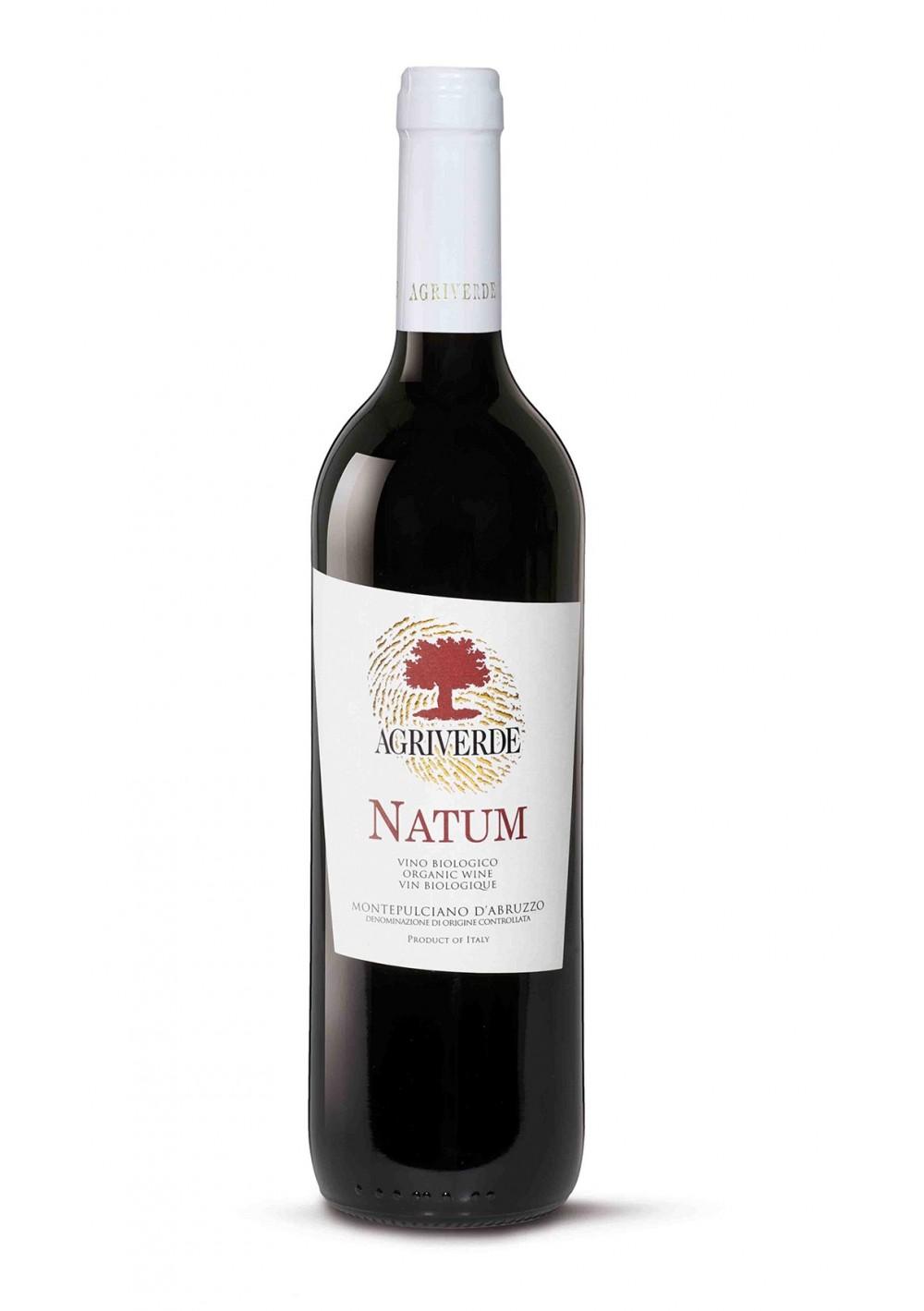 Natum, Montepulciano DOC Bio_Vegan - Agriverde