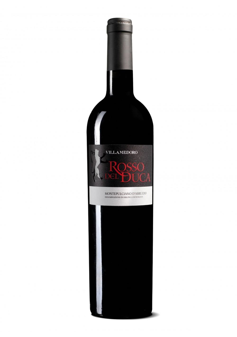 Rosso del Duca, Montepulciano d'Abruzzo DOC 2012 - Villa Medoro
