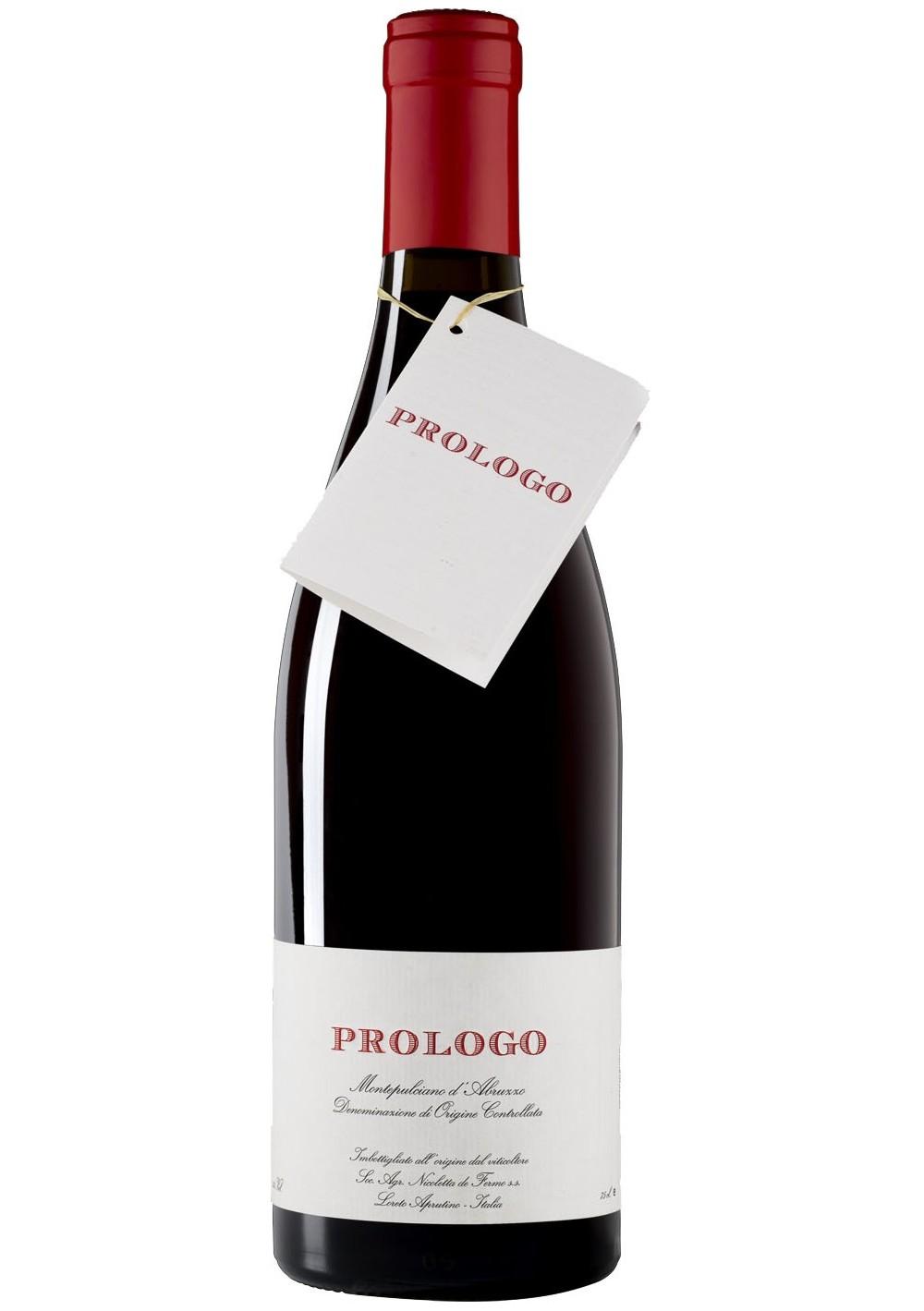 Prologo, Montepulciano d'Abruzzo DOC 2012 - De Fermo