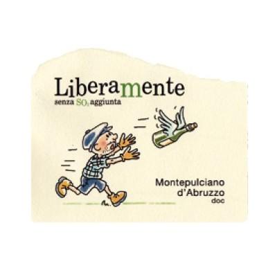 Libera Mente, Montepulciano d'Abruzzo DOC 2015 - Centorame