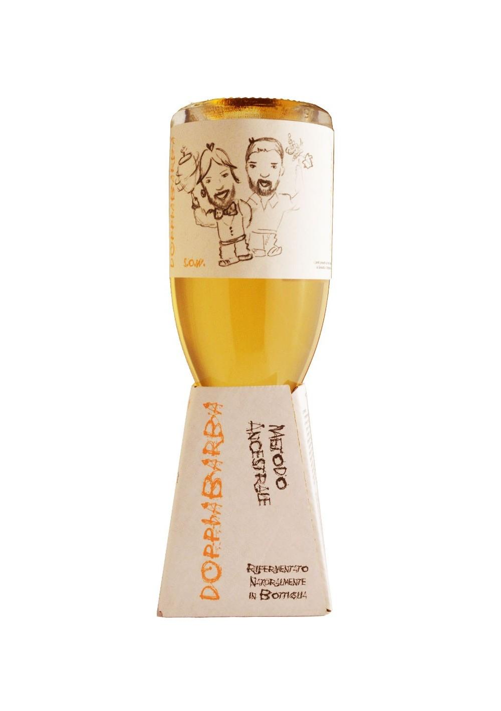 Doppiabarba, Sparkling Orange Wine - Marina Palusci