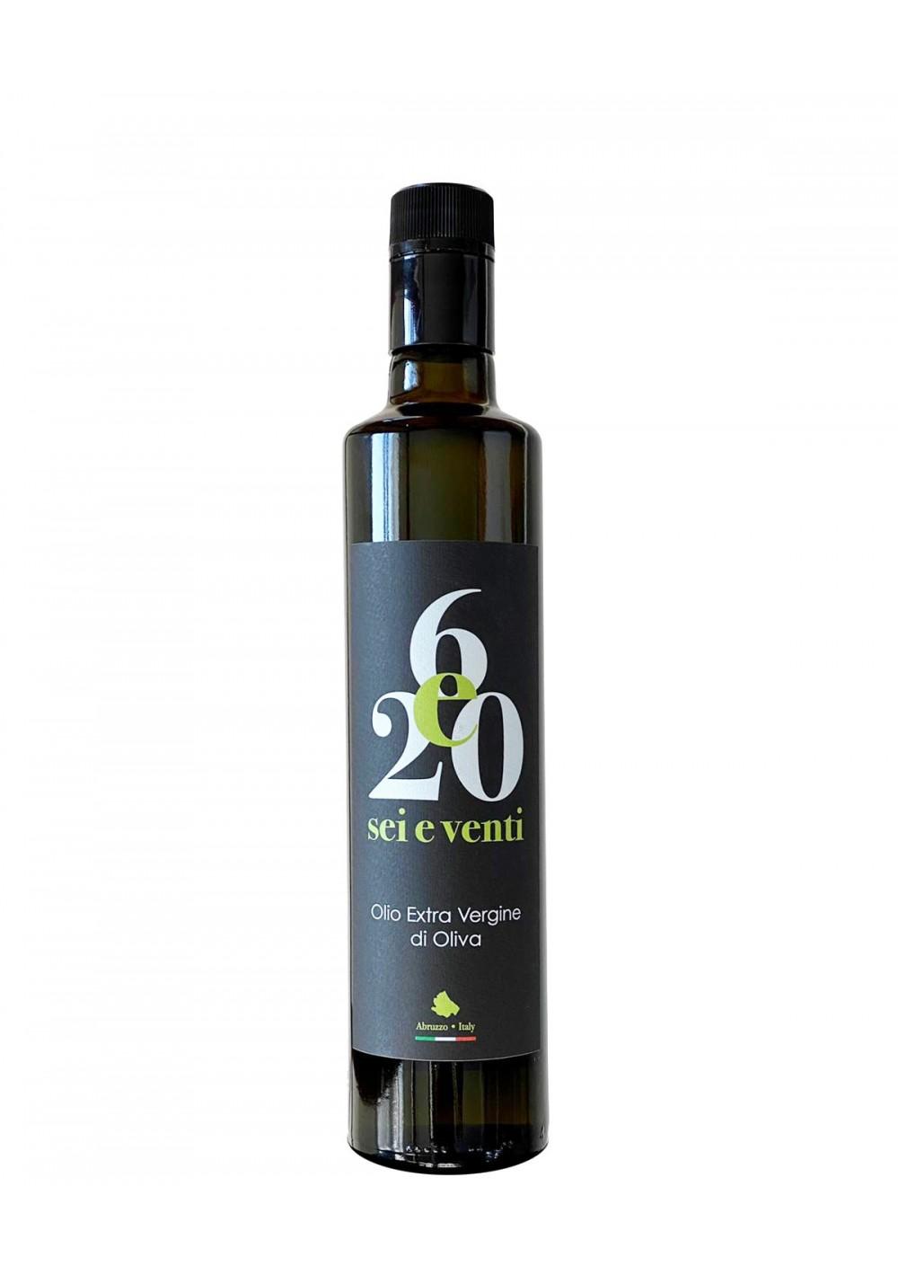 6e20, Olio Extravergine di oliva o,5 lt